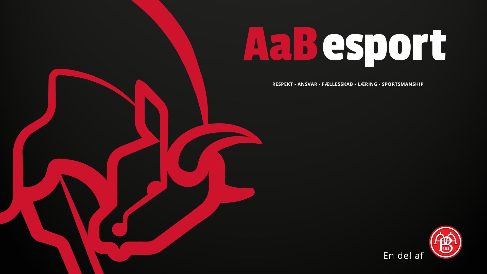 AaB esport wallpaper
