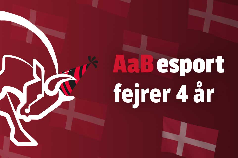 AaB esport fylder fire år